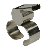 Brass Fingergrip Whistle